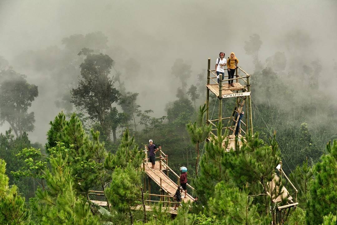 Lokasi Watu Layah Tlogopucang Temanggung Pojok Kayangan Kab Purbalingga