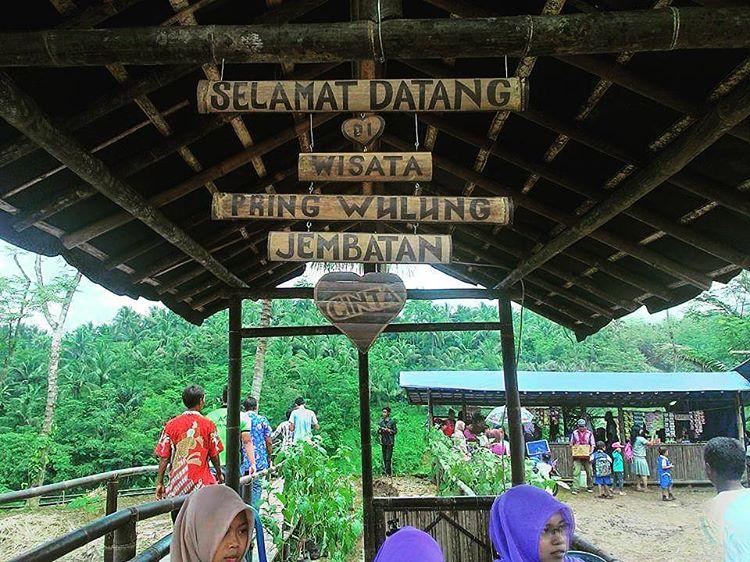 Pesona Jembatan Cinta Desa Wisata Panusupan Wajib Dikunjungi Pojok Kayangan