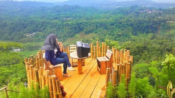 Desa Wisata Panusupan Surga Nyata Kabupaten Purbalingga Pojok Khayangan Puncak
