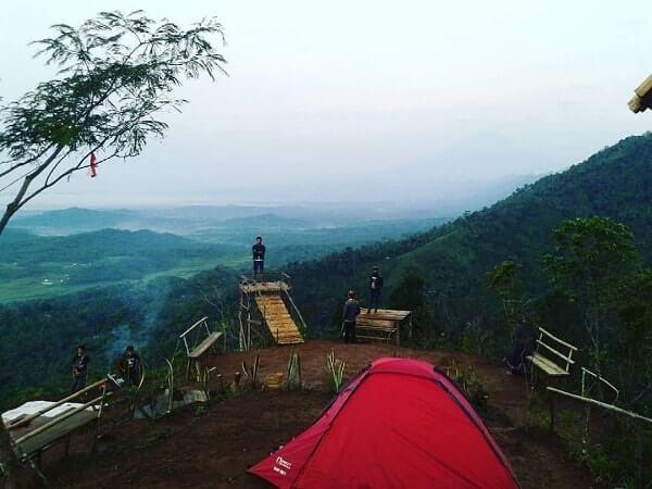 Desa Wisata Panusupan Surga Nyata Kabupaten Purbalingga Taman Puncak Srimbar