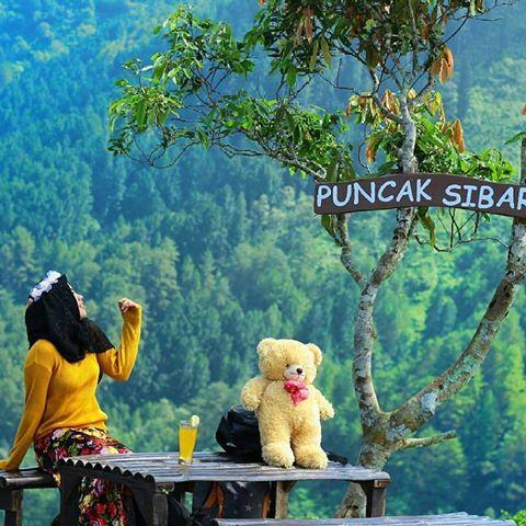 Obyek Wisata Puncak Sibarat Purbalingga Jawa Tengah Keindahan Kab