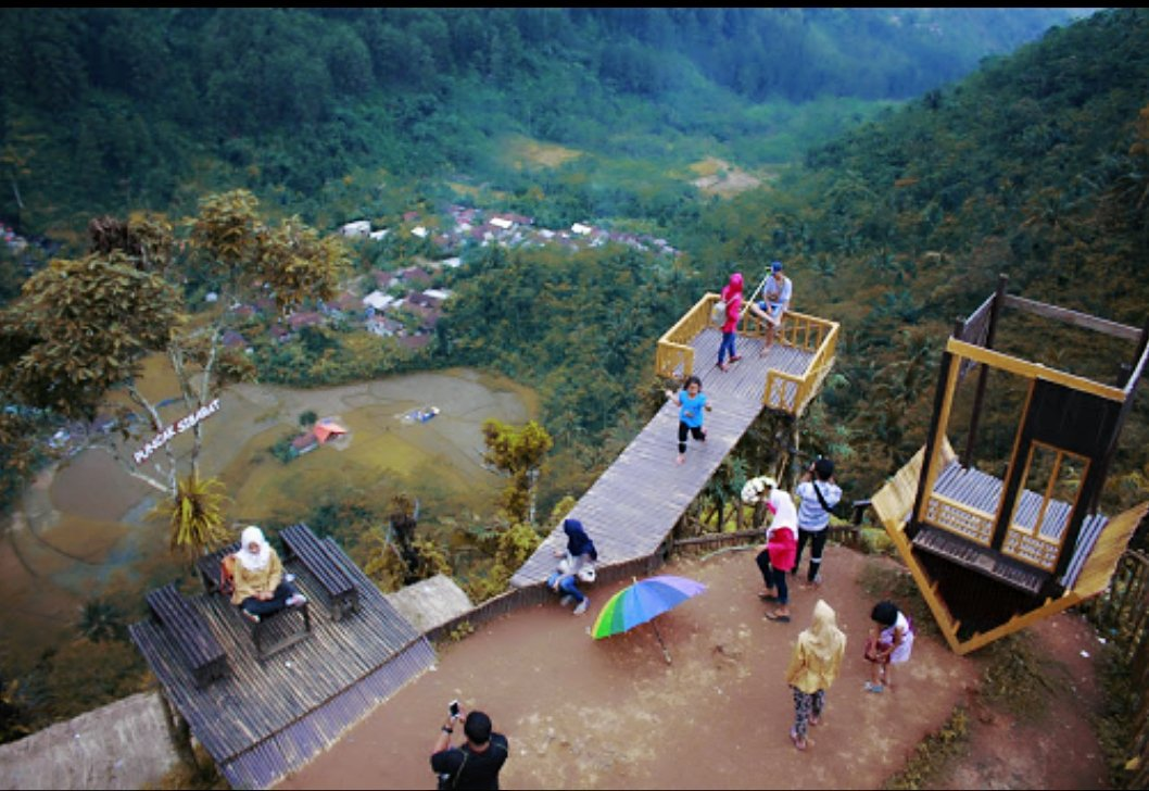 Purbalingga Wisata Twitter Alam Puncak Sibarat Dusun 7 25 Pm