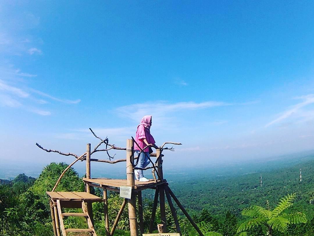 Sobatpetualang Rute Lokasi Bukit Mertelu Purbalingga Spot Ayunan Langit Puncak
