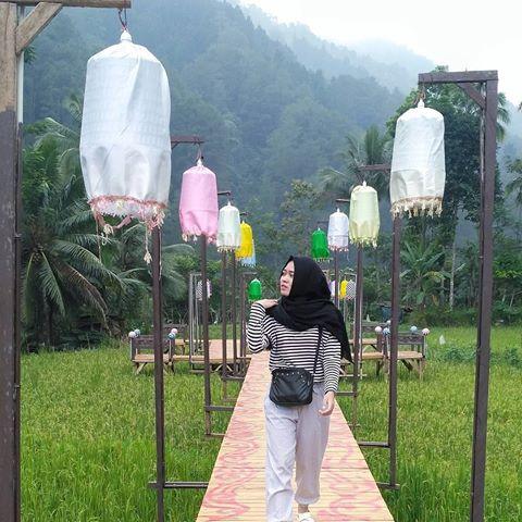 Wisata Lampion Tengah Sawah Purbalingga Jawa Harga Tiket Masuk Puncak