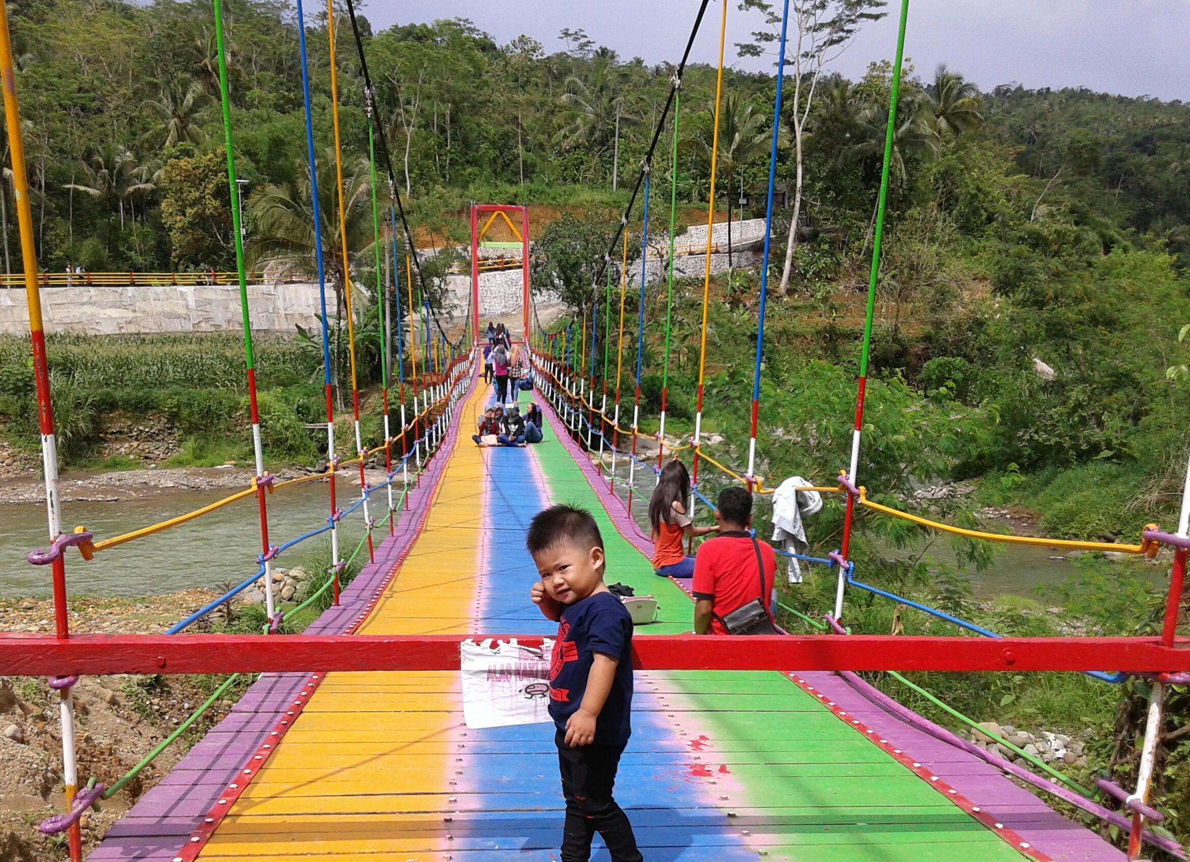 Igir Wringin Hijaunya Purbalingga Ketinggian Sanggar Pena Desa Pelangi Jembatan