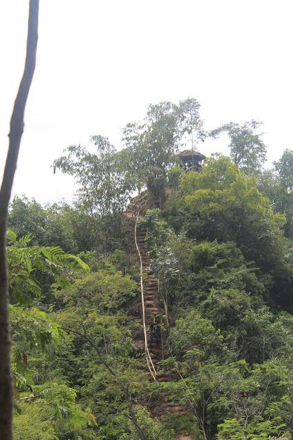 Igir Wringin Wisata Alam Indah Purbalingga Foto Jalur Puncak Rumah