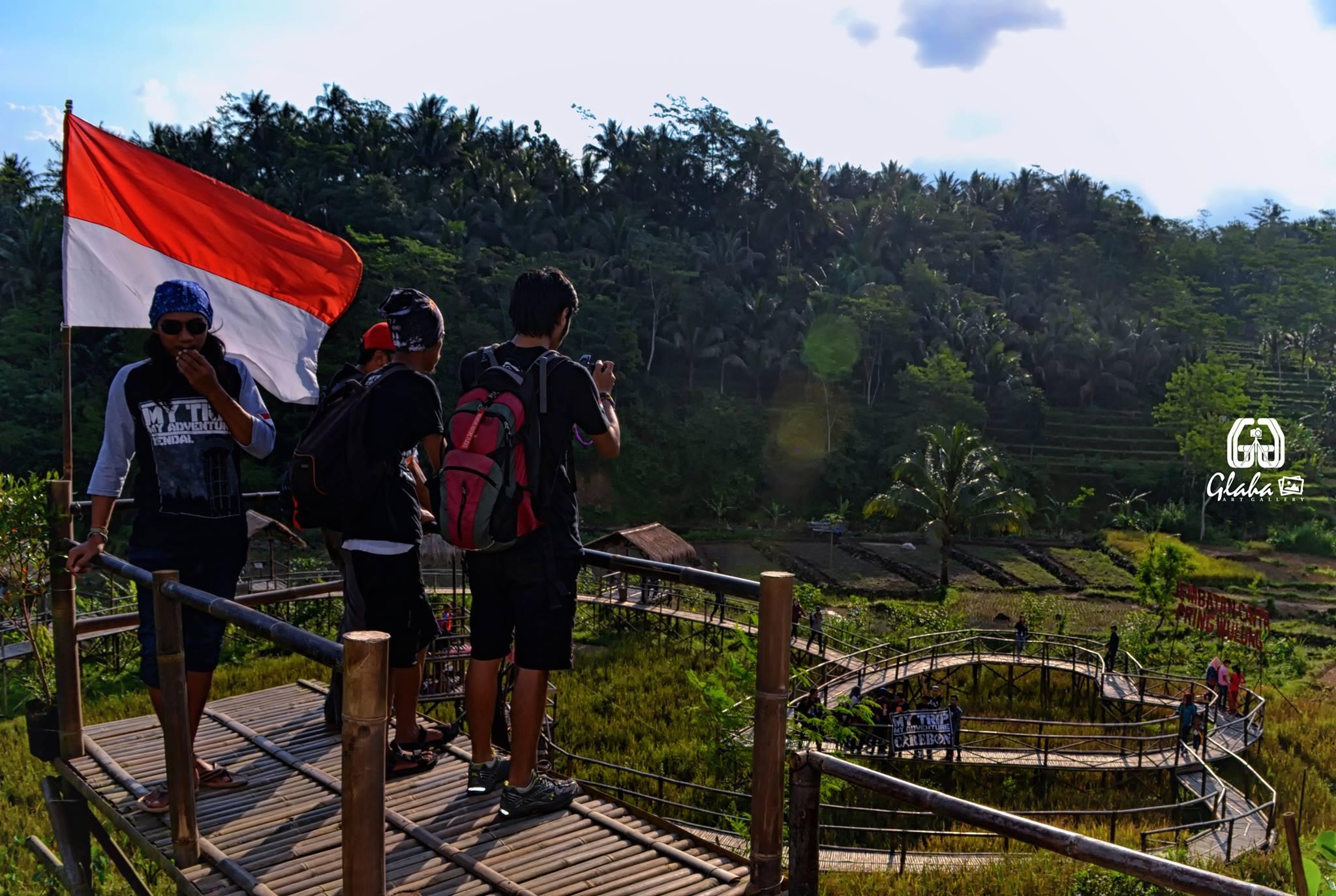Panorama Menakjubkan Desa Wisata Penusupan Klikanggaran Hati Obyek Purbalingga Wahana