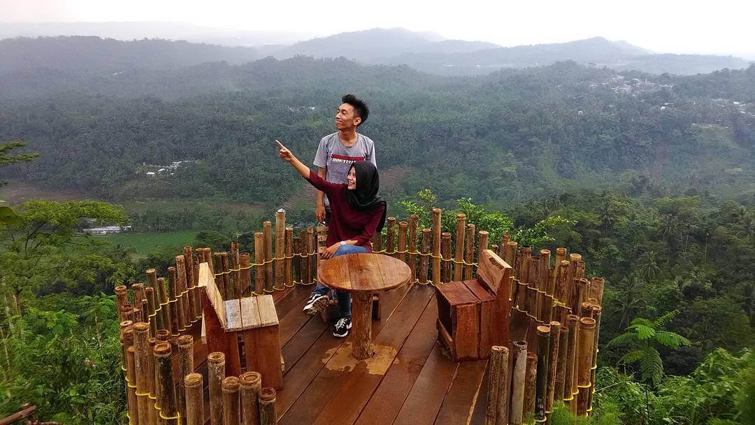 Pojok Khayangan Desa Wisata Panusupan Spot Selfie Purbalingga Ngadem Rumah