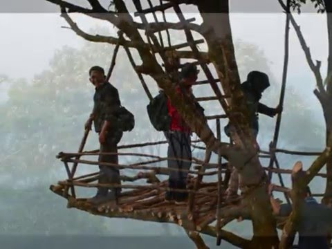 Rumah Pohon Tempat Camping Igir Wringin Desa Wisata Panusupan Youtube