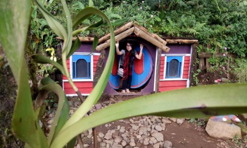 Kampung Kurcaci Bersolek Sambut Wisatawan Lebaran Okezone Https Img Okeinfo
