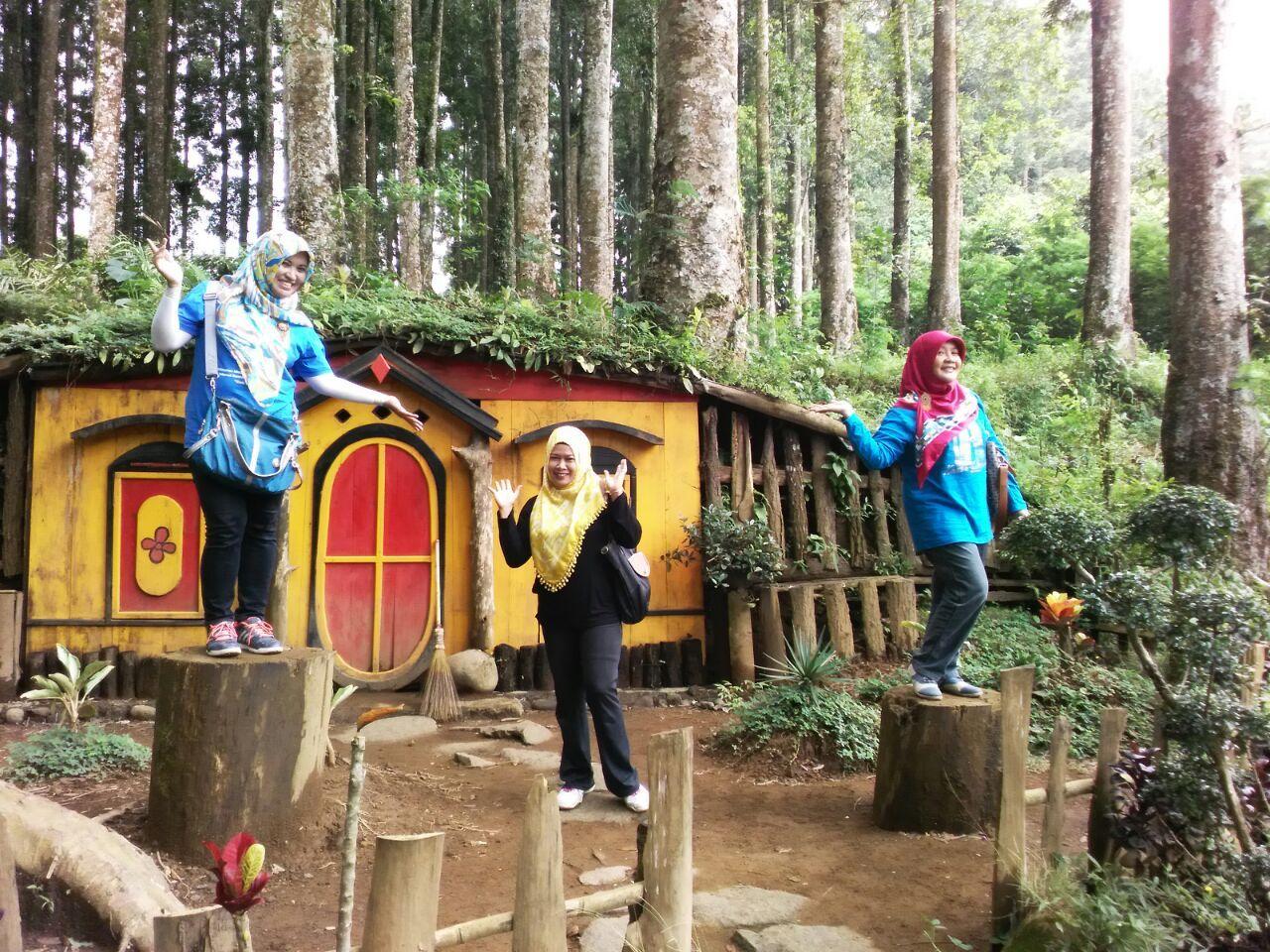 Kampung Kurcaci Desa Serang Purbalingga Yuuk Wefie Kecamatan Karangreja Berada