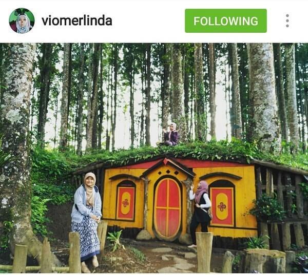 Kampung Kurcaci Purbalingga Wisata Ngehits Kota Perwira Rumah Ruman Pohon
