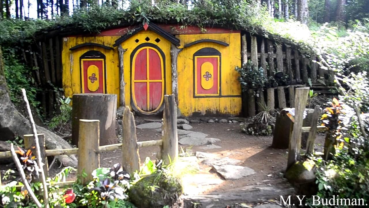 Kampung Kurcaci Purbalingga Youtube Ruman Pohon Kab
