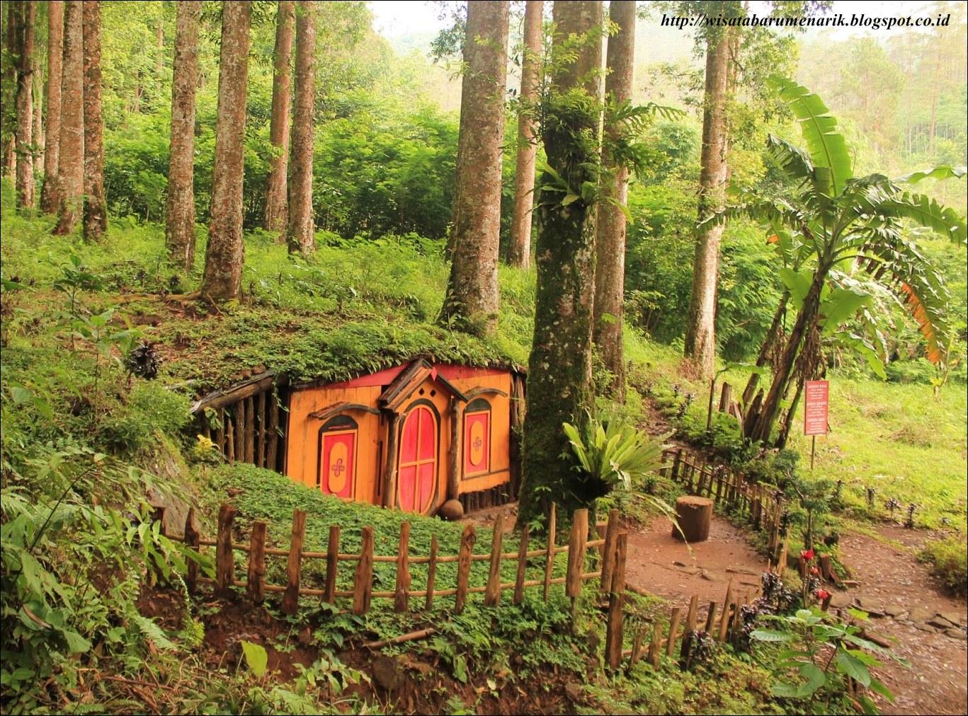 Sungguh Menakjubkan Tempat Terbilang Populer Purbalingga Kampung Kurcaci Ruman Pohon