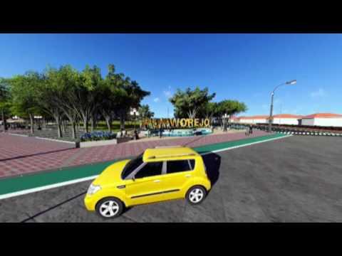 Alun Purworejo Animasi 3d Youtube Kab