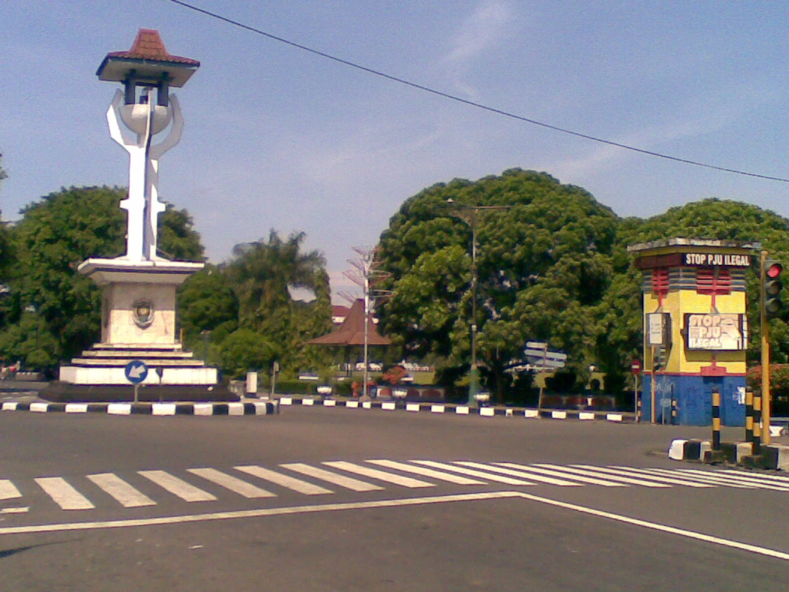 Golek Wangsit Monumen Tugu Kabupaten Purworejo Deket Alun Kab