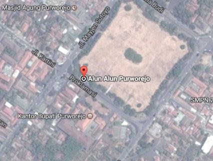 Pesona Keindahan Wisata Alun Kota Purworejo Jawa Tengah Demikianlah Sedikit