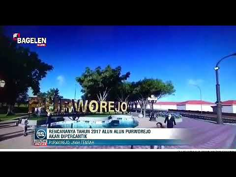 Rencana Pembangunan Alun Purworejo Youtube Kab
