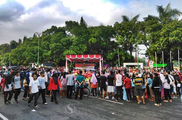 Sorotpurworejo Media Berita Online Purworejo Kuda Lumping Alun Berjubel Penonton