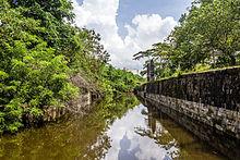 Benteng Pendem Cilacap Wikipedia Moat Kab Purworejo