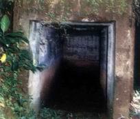 Benteng Pendem Jpg Terletak Perbukitan Dukuh Kaliwaru Dusun Bapangsari Krendetan