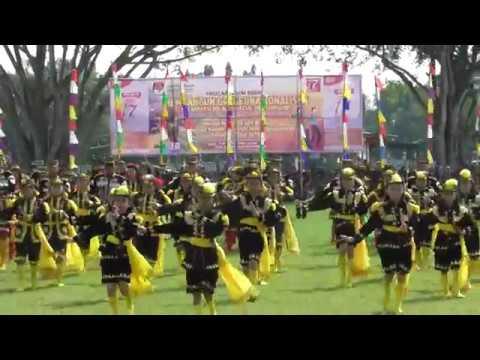 Dolalak Massal Pagelaran Seni Budaya Kpu Kab Purworejo Youtube Kesenian