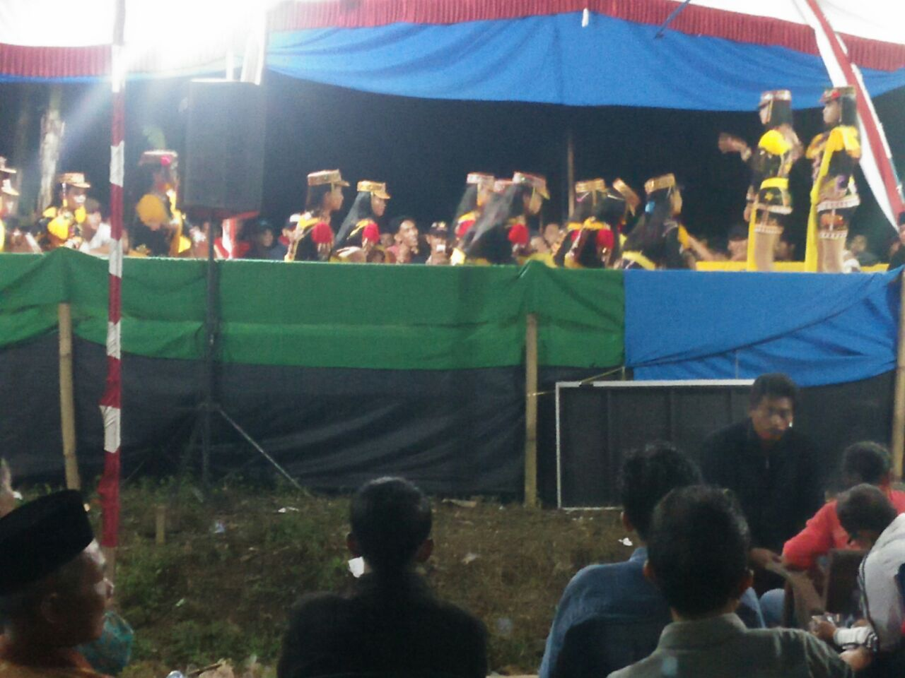 Kanit Sabhara Polsek Kutoarjo Polres Purworejo Pimpin Pengamanan Kesenian Dolalak