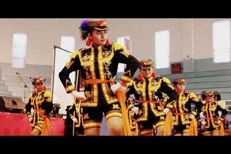 Tari Dolalak Tarian Tradisional Purworejo Jawa Tengah Gambar Pertunjukan Kesenian