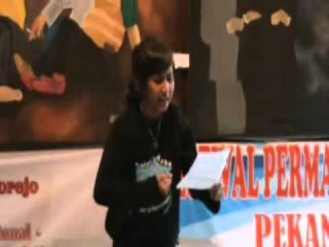 Teater Asba Smp Negeri 23 Purworejo Lomba Baca Puisi Hut