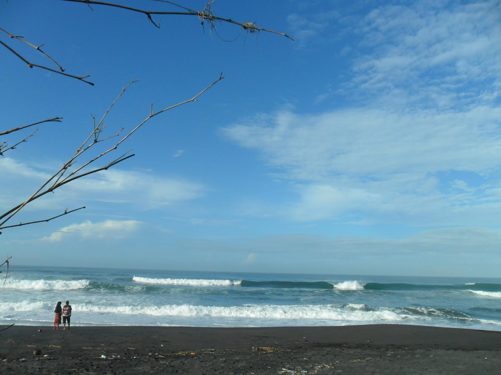 Pagi Pantai Jatimalang Purworejo Coretanbunda Salah Satu Sayasuka Bisa Puas