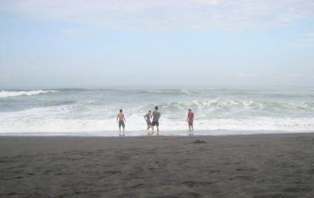 Pantai Jatimalang Eksotik Purworejo Guru Pantura Sebagian Kawasan Memang Terpasang
