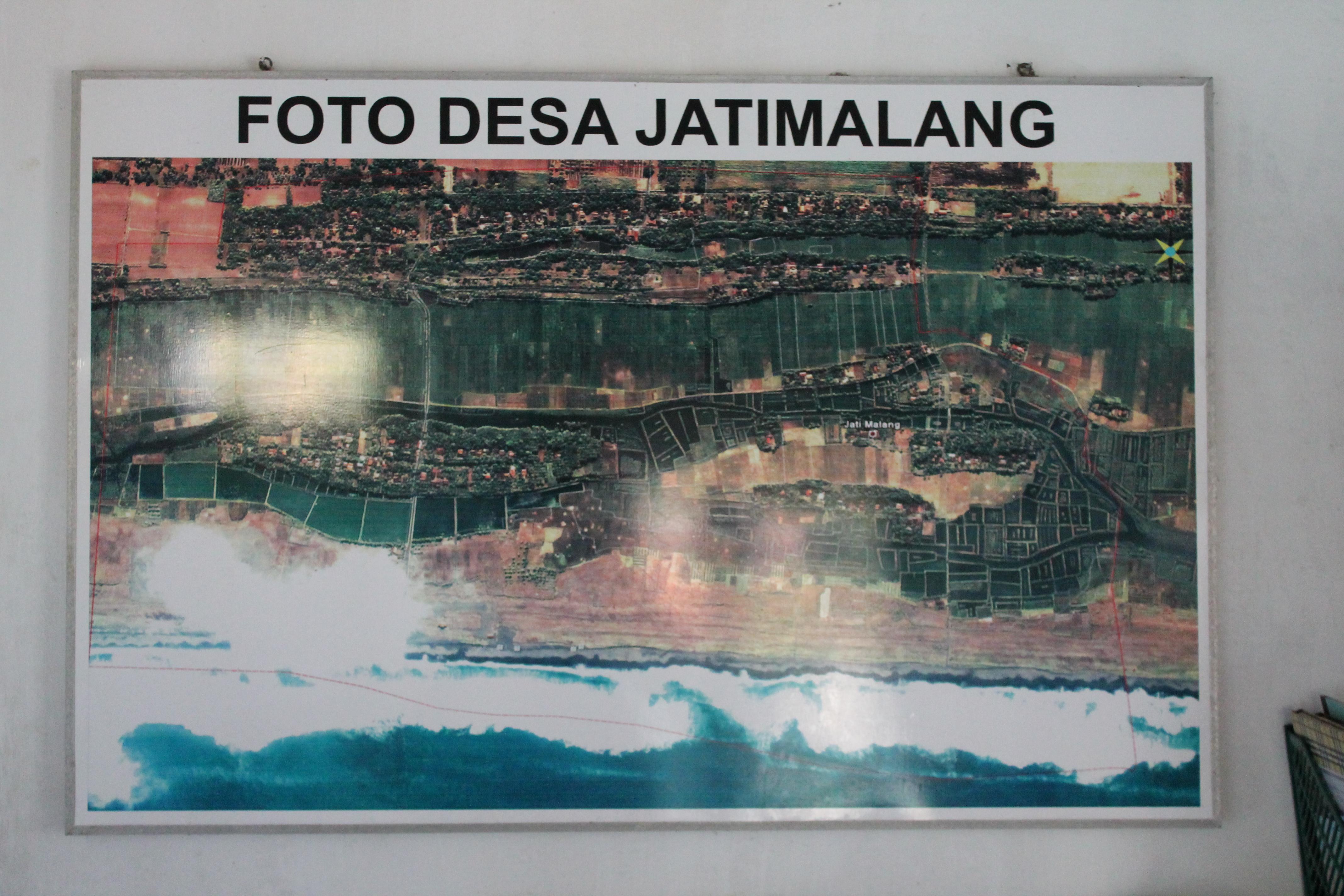 Pantai Jatimalang Indah Pesona Pesisir Purworejo Peta Desa Kab