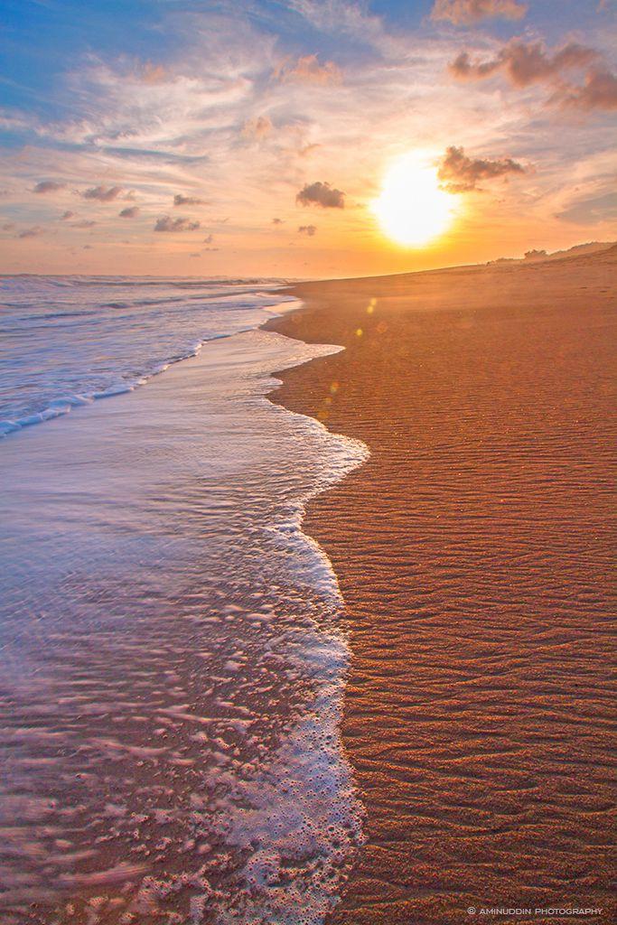 Pantai Jatimalang Kab Purworejo Explore Sunset Tanah Foto Diambil Blog