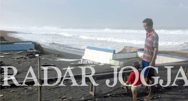 Pantai Jatimalang Radar Jogja Bpbd Purworejo Tebar Himbauan Lewat Kades