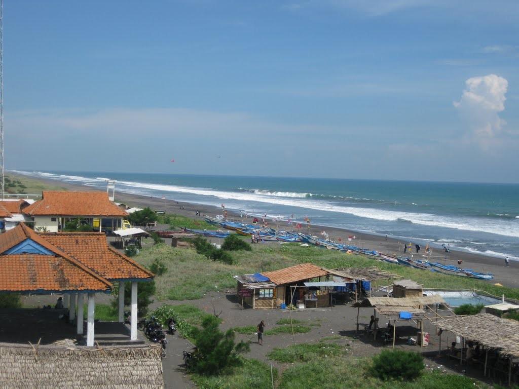 Pantai Jatimalang Suasana Berbeda Pesisir Selatan Jawa Tengah Kab Purworejo