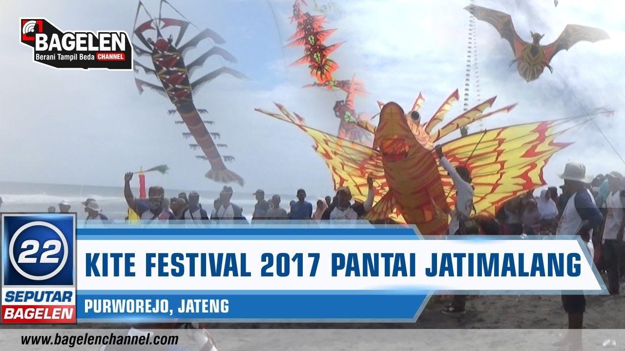 Purworejo Kite Festival 2017 Puluhan Layang Hiasi Pantai Jatimalang Kab
