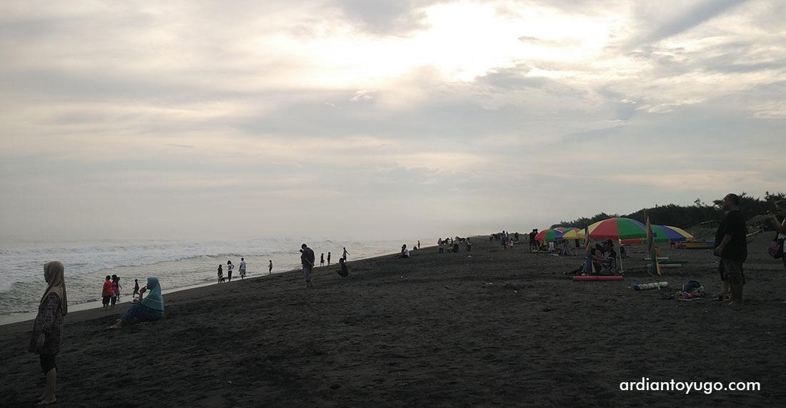 Wisata Pantai Jatimalang Purworejo Sea Food Ardiantoyugo Sendiri Pertama Sebenernya