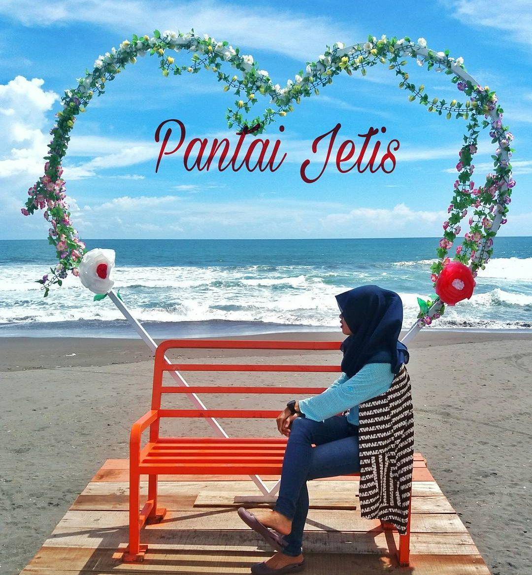 Keindahan Pantai Jetis Grabag Purworejo Jawa Tengah Terletak Desa Patutrejo
