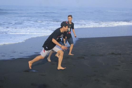 Pantai Ketawang Eyo Prikitiw Wisata Ketawangrejo Purworejo Jawa Tengah Mempunyai