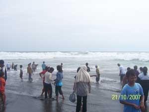 Wisata Purworejo Blogger Pantai Ketawang Grabag Kab