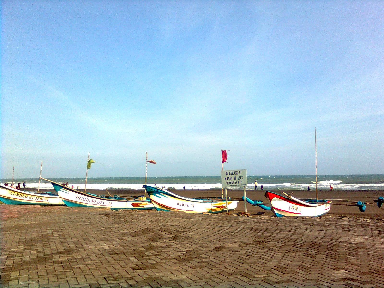 Pantai Keburuhan Purworejo Jalan Makan Terletak Desa Kecamatan Ngombol Kabupaten