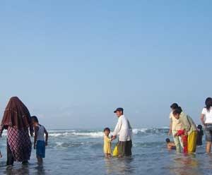 Wisata Purworejo Blogger Pantai Ketawang Grabag Pasir Puncu Kab