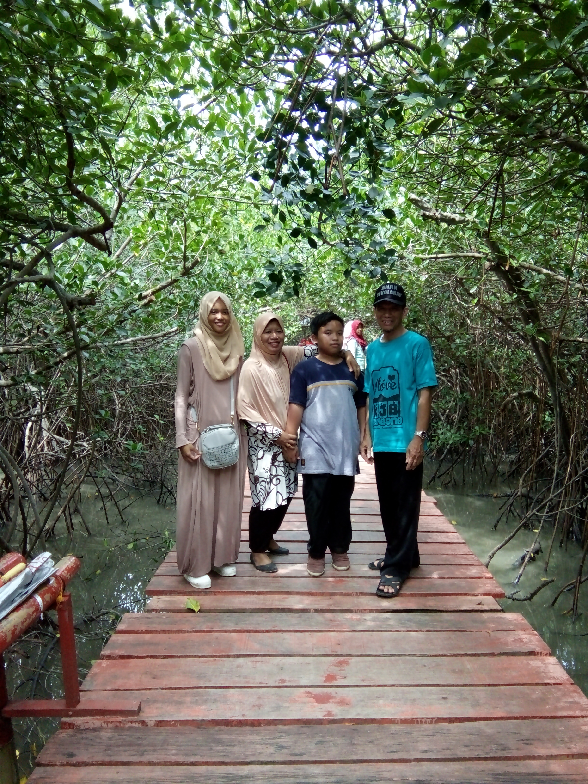 July 2017 Osis Smansa Rembang Wisata Alam Hutan Mangrove Pasarbanggi