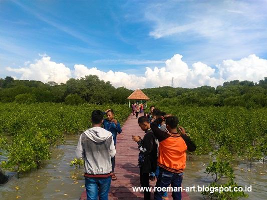 Wisata Irit Hutan Mangrove Rembang Jawa Tengah Roeman Art Pasar