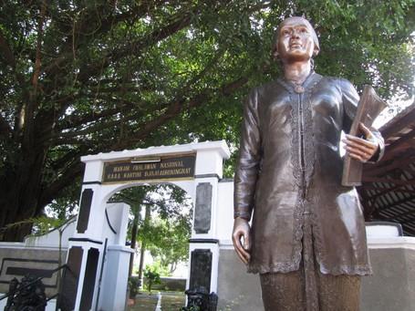 Makam Perempuan Berpengaruh Indonesia Raden Ajeng Kartini Kab Rembang