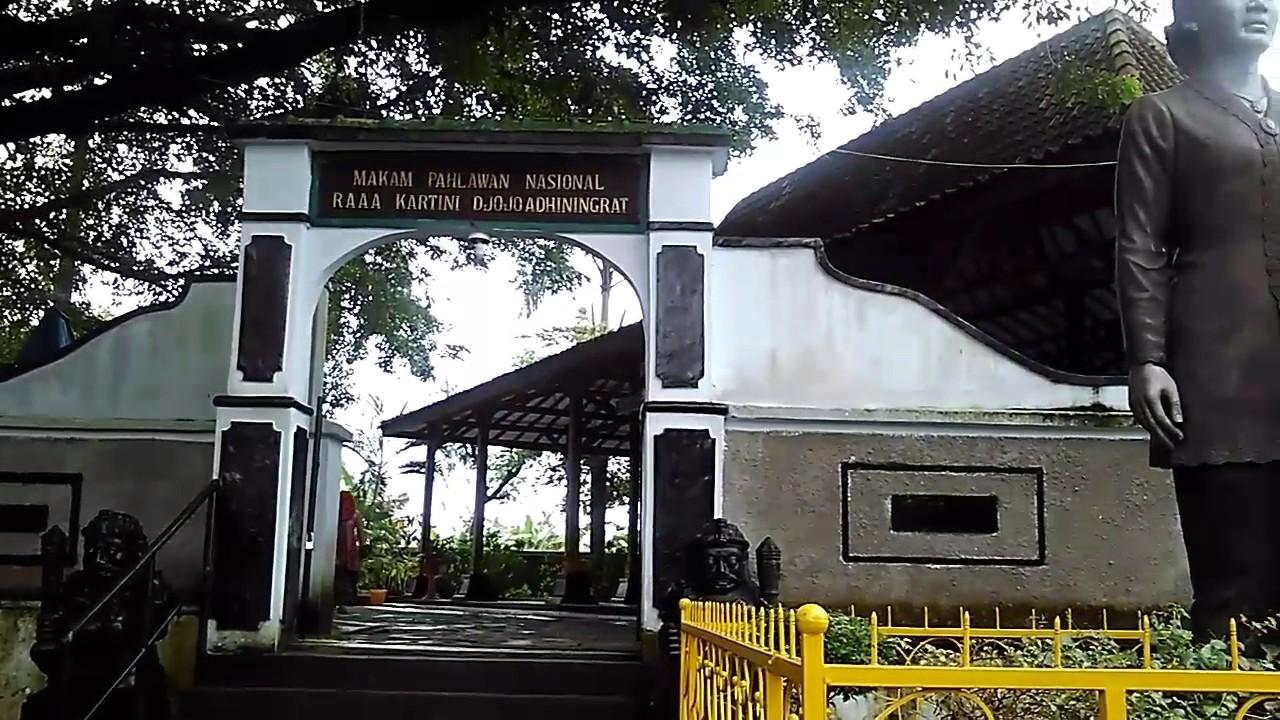 Makam Raden Ajeng Kartini Rembang Habis Gelap Terbitlah Terang Kab