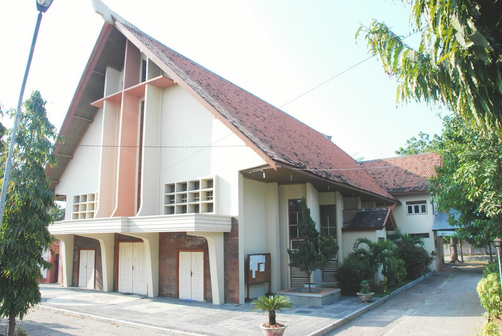 Aseng Jayadipa Lasem Sebuah Kecamatan Kabupaten Rembang Gereja Katholik Maria