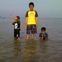 Pantai Binangun Lasem Jawa Tengah Foto Diambil Oleh Abdoel 10