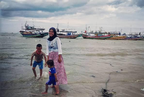 Pantai Binangun Singgahi Indah Kab Rembang