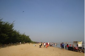 Pantai Karang Jahe Wisata Lokal Rembang Karangjahe Binangun Indah Kab